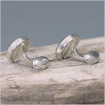 Labradorite Sterling Silver Cuff links