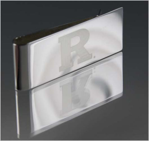 Rutgers University Engraved Sterling Silver Money Clip
