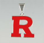 Rutgers Block R Pendant - Red