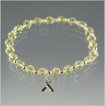 Liver Cancer Awareness Swarovski Crystal Bracelet