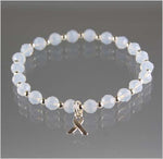 Bone Cancer Awareness Bracelet - Swarovski Crystal