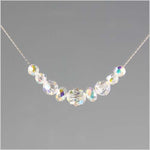 Bridal Swarovski Crystal Beaded Necklace