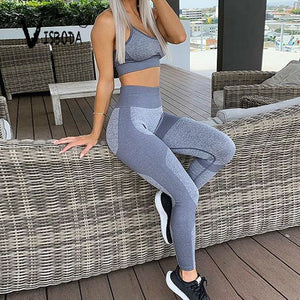 Don't Look Back! Sporty 2 pc Workout Set