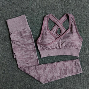 Roar With Me! Quick Dry workout crop top and Leggings