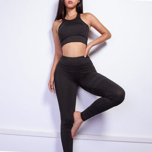 Hyper Active! Breathable Mesh Leggings + Crop Top Set