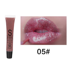 Bring All The Boys To The Yard! Long Lasting Waterproof  Glitter Candy Color Lip Gloss