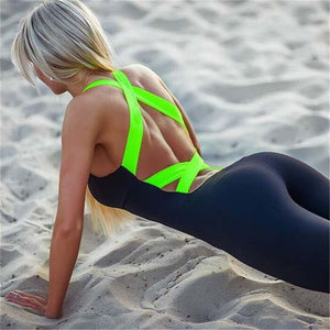 Look Back At It! Backless Bandage Bodysuit
