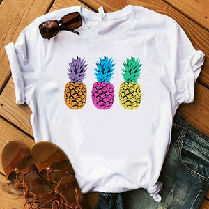 Diced Pineapples! Cute Graphic Tee
