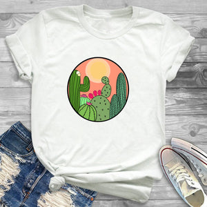 It's Prickly! Cute Graphic Cacti Tees