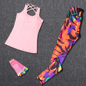 Triple Threat! 3Pcs Sports Set