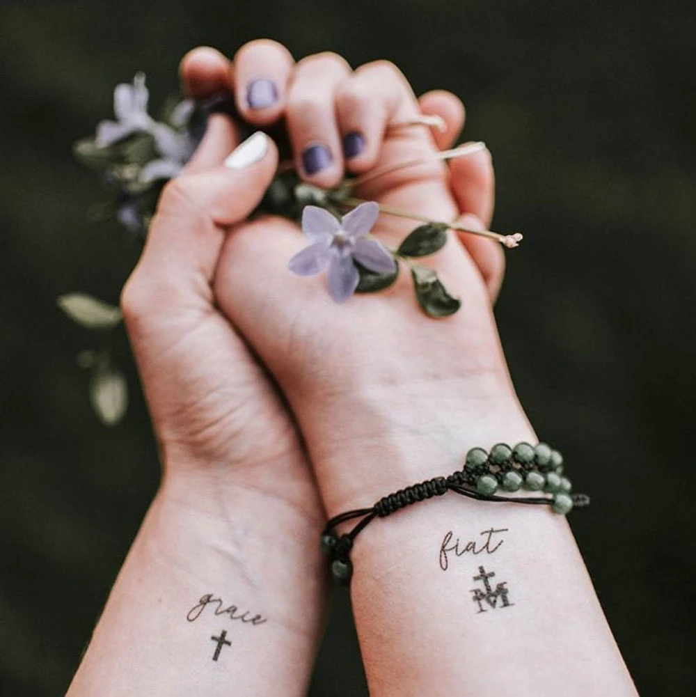 'Behold Collection' Temporary Tattoos