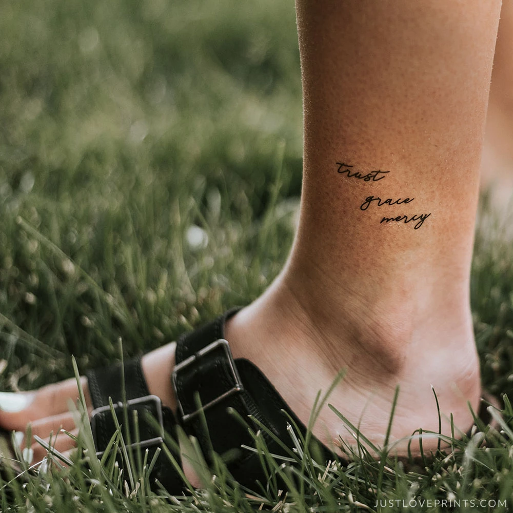 'Divine Mercy Collection' Temporary Tattoos