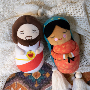 Our Lady of Guadalupe Plush by Shining Light Dolls