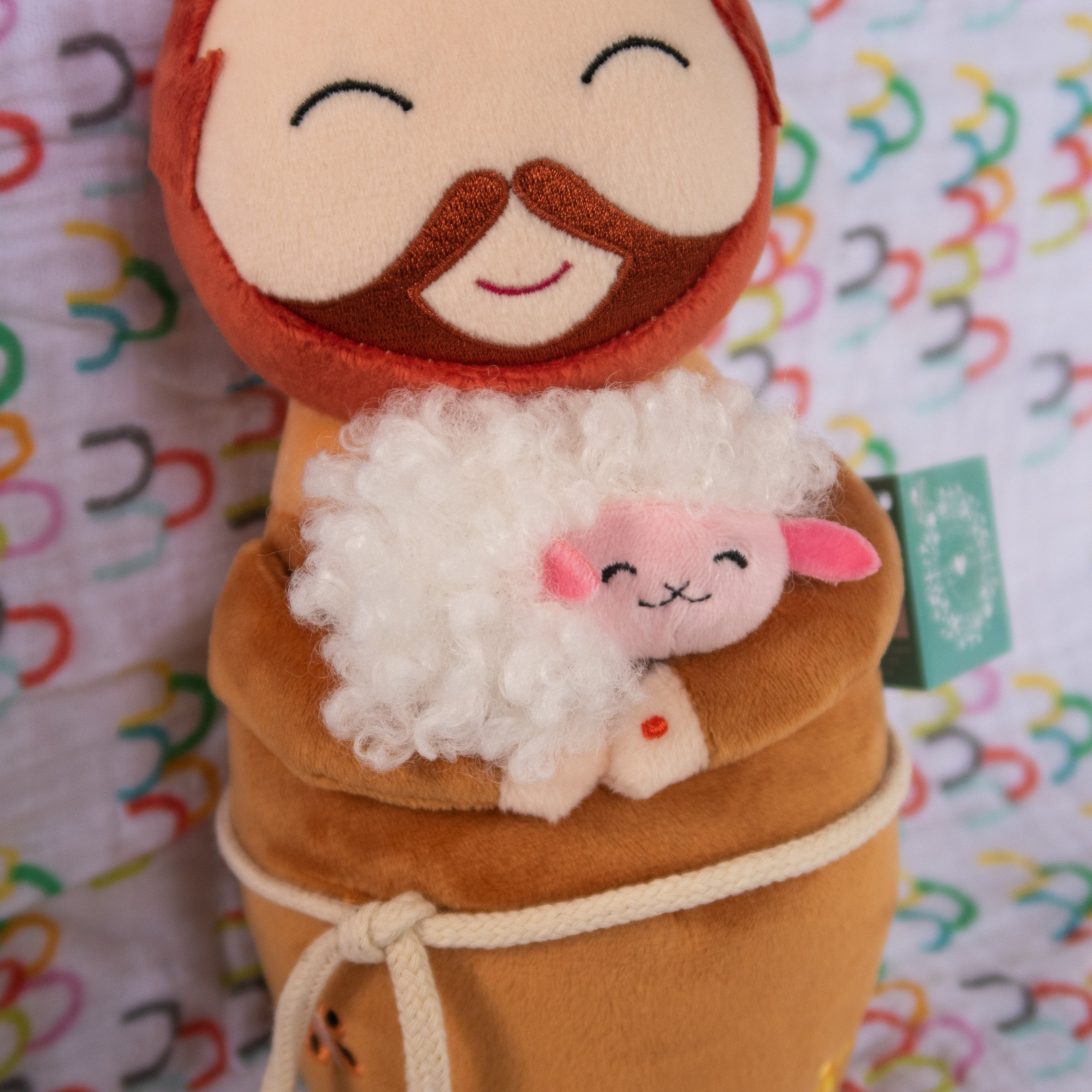 St. Francis of Assisi Plush by Shining Light Dolls