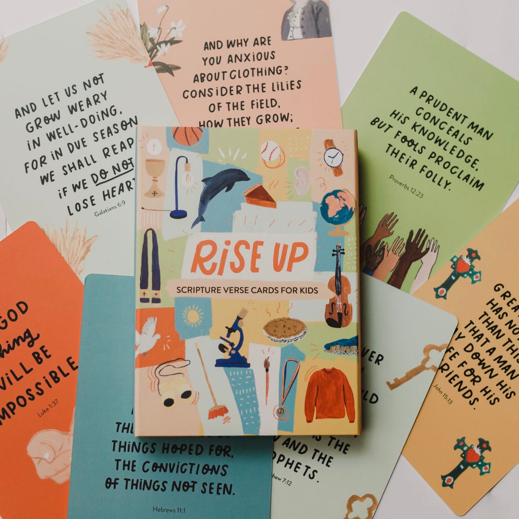 Rise Up Scripture Postcards (Set of 45)