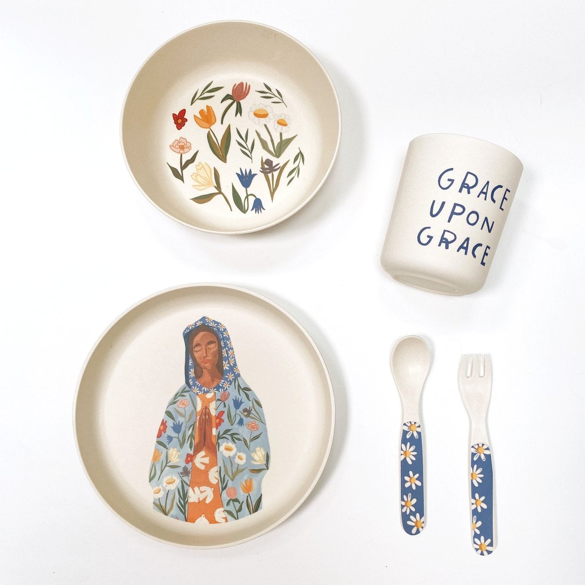 Our Lady of Perpetual Flourishing Children's Dining Set