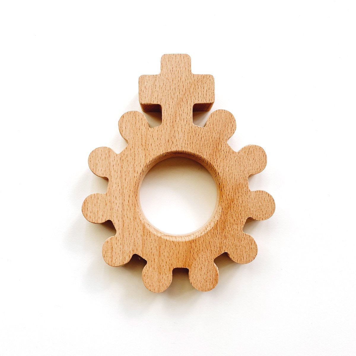 'Baby's First Rosary' Wooden Teething Rattle