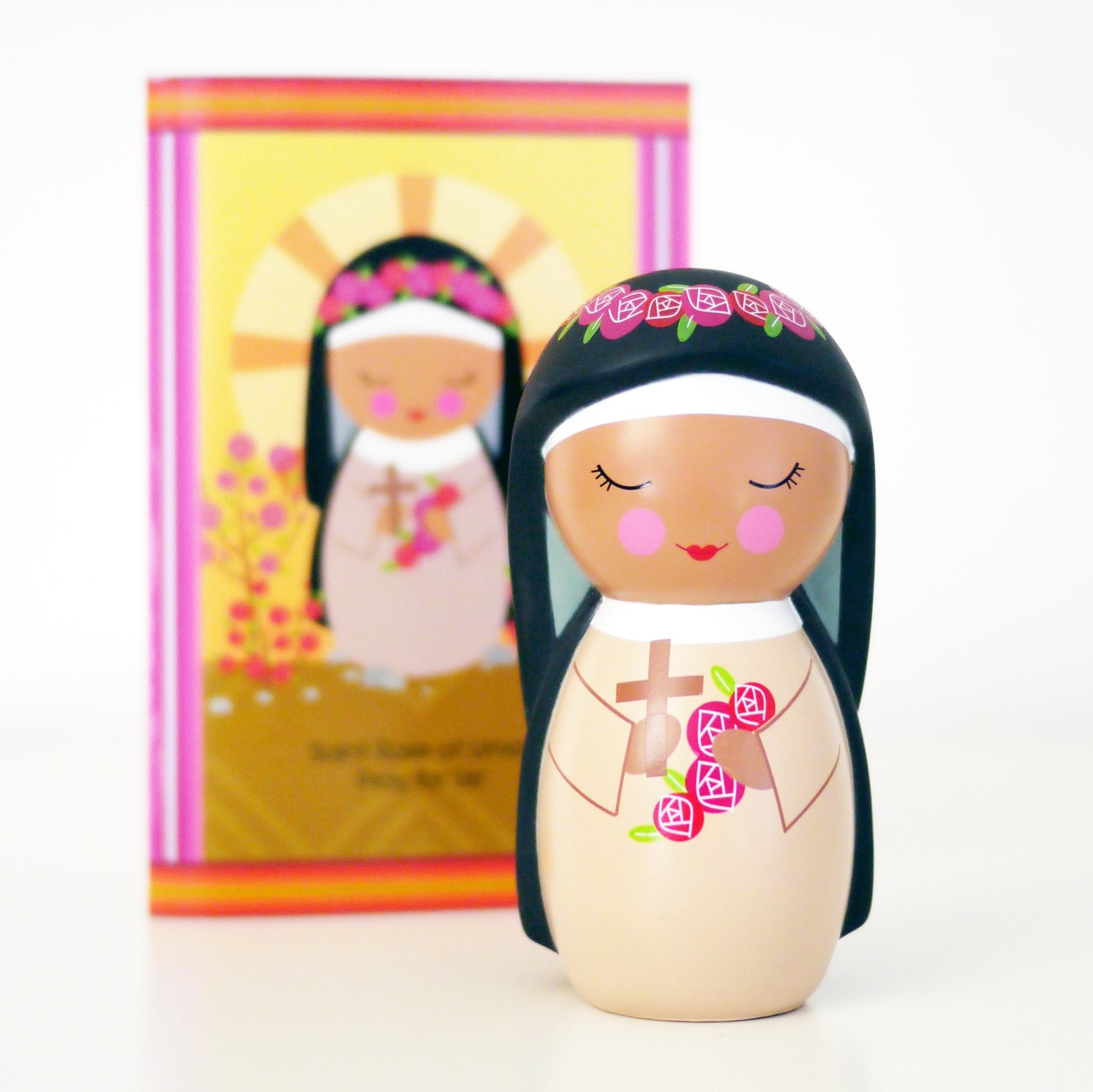 *LAST CHANCE* St. Rose of Lima Shining Light Doll
