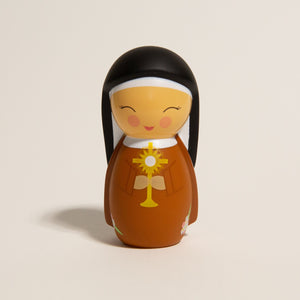St. Clare of Assisi Shining Light Doll
