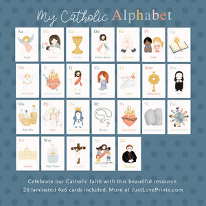 'My Catholic ABCs' Letter Set