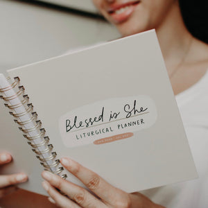 Blessed is She *MINI* 2021 Liturgical Calendar Year Planner