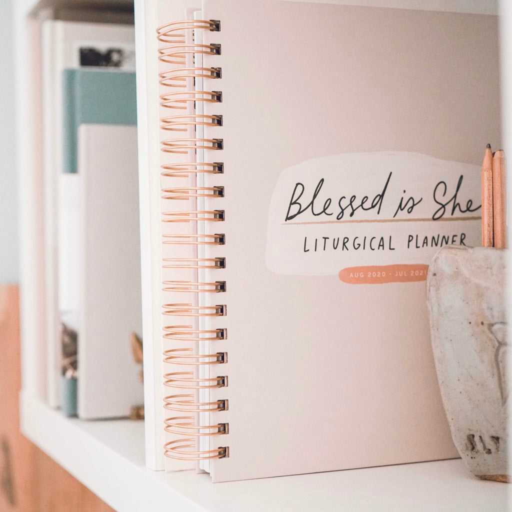 Blessed is She *FULL-SIZE* 2021 Liturgical Calendar Year Planner
