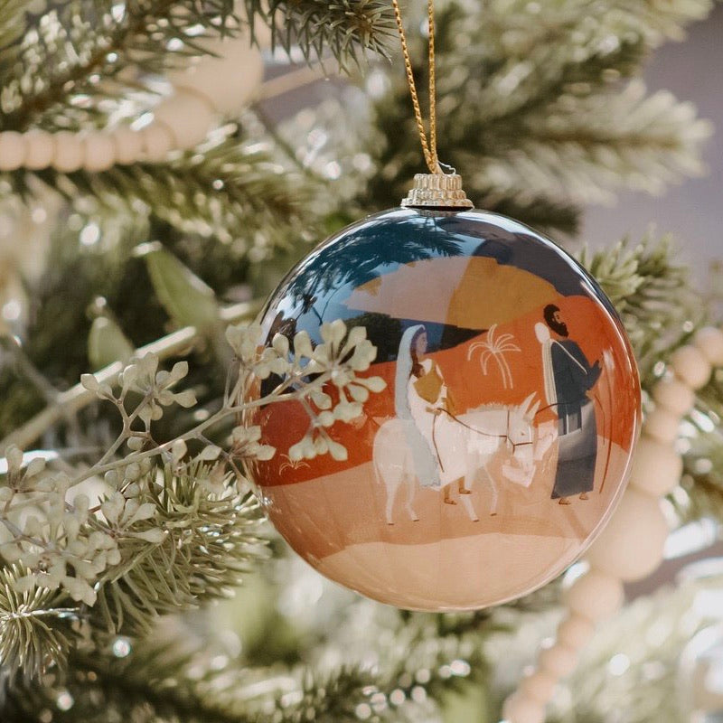 'Holy Family' Christmas Ornament