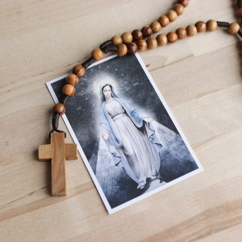 'Ave Maria' Prayer Card