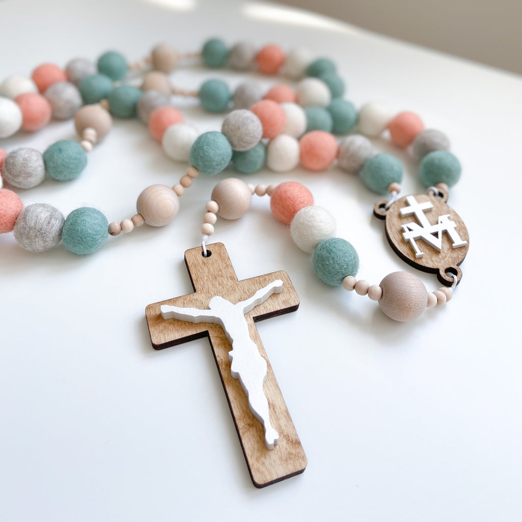 Our Lady of Peace Wall Rosary