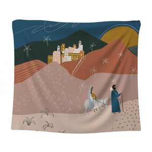 Holy Family Tapestry Scarf
