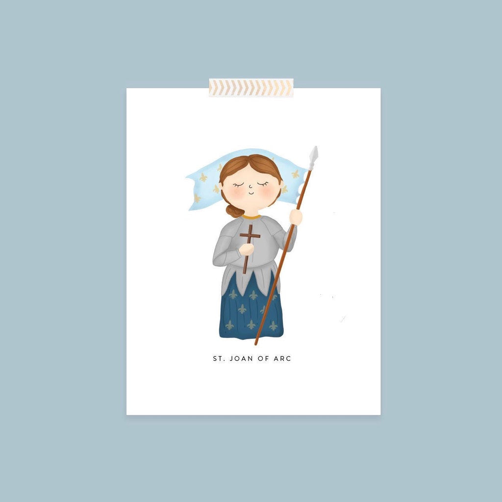 'St. Joan of Arc' Print (8x10)