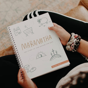 """Maranatha: The Story of Our Saviour"" 2020 Advent Journal for Kids"