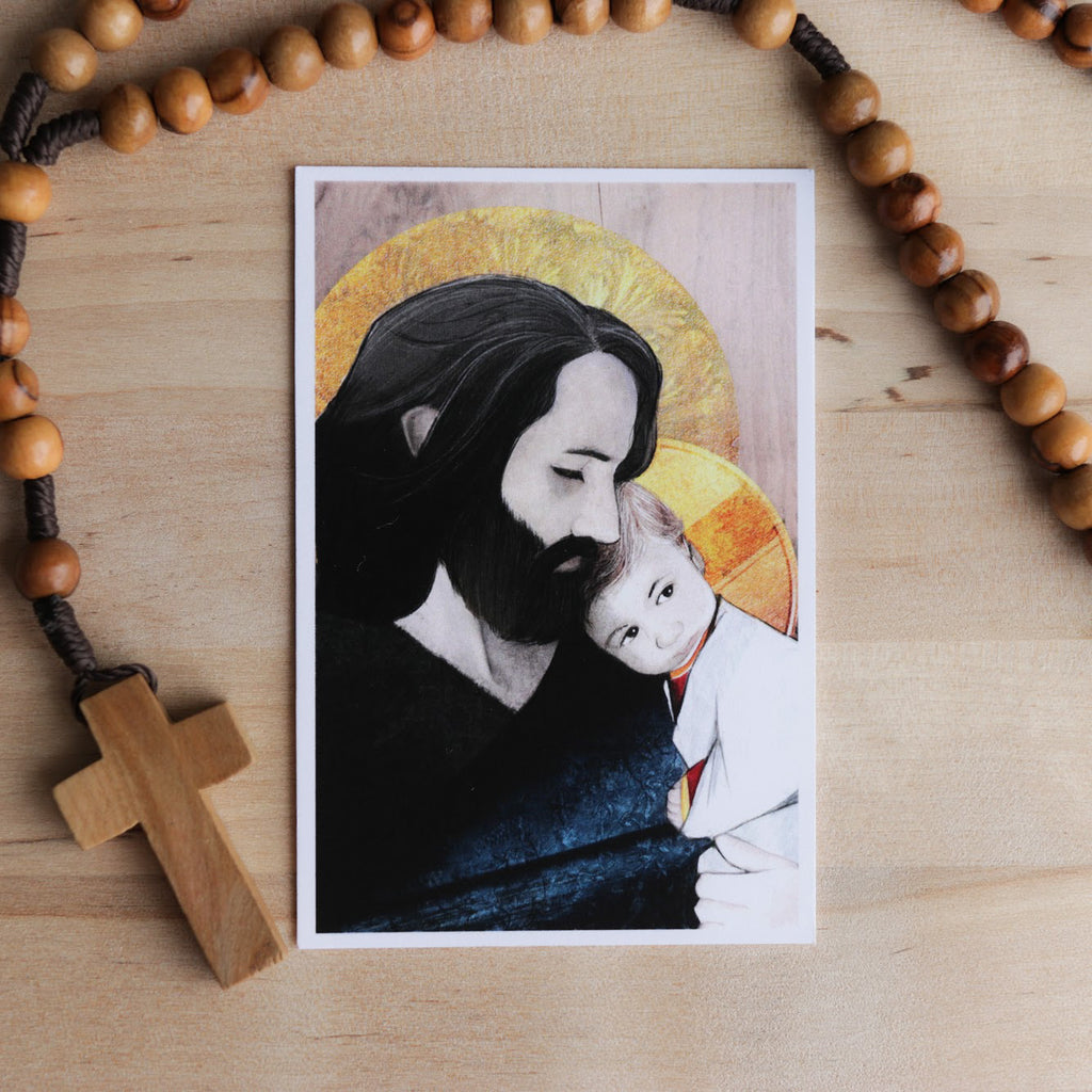 'St. Joseph' Prayer Card