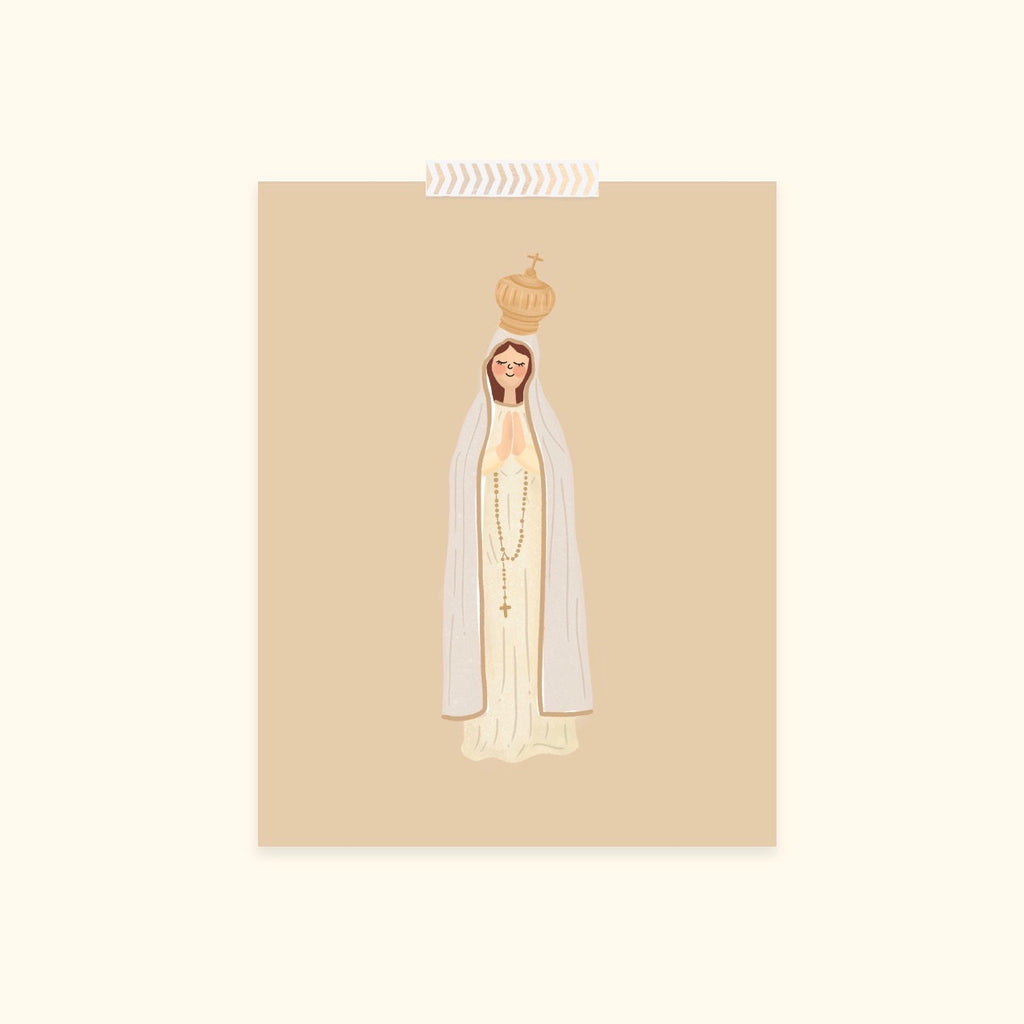 'Our Lady of Fatima' Print (5x7)