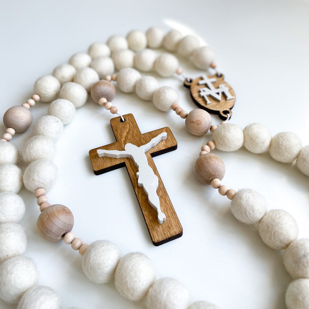 Purity Wall Rosary
