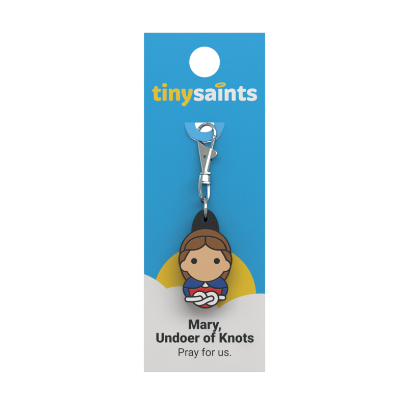 Mary, Undoer of Knots Tiny Saint