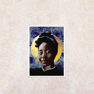 'St. Josephine Bakhita' Prayer Card
