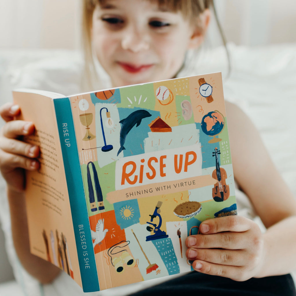 *SLIGHTLY DAMAGED* 'Rise Up' Virtues Devotional for Kids