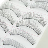 Mr. Black's 10Pairs Eyelashes with Clip and Glue - Mr. Black's Store