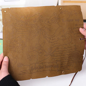 Mr. Black's Treasure Map Pencil Case - Mr. Black's Store