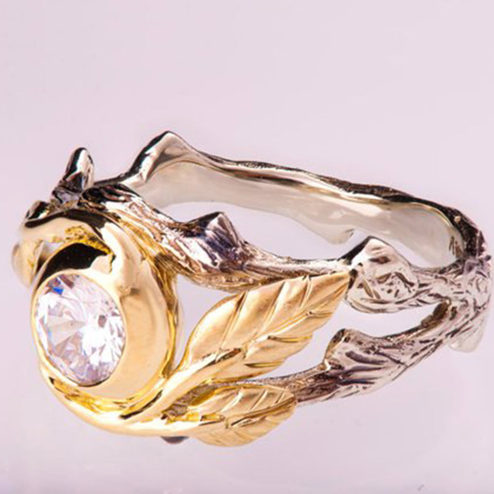 Mr. Black's Hollow Carved Ring - Mr. Black's Store