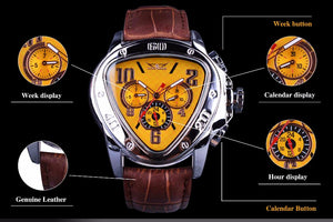 Mr. Black's Jaragar Luxury Mechanical Watch - Mr. Black's Store