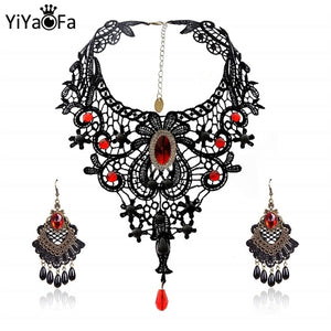 Mr. Black's Handmade Exaggerated Jewelry Set - Mr. Black's Store