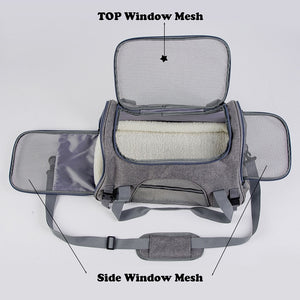 Airline Approved Breathable Pet Carrier