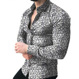 Mr. Black's floral Printed Shirt - Mr. Black's Store