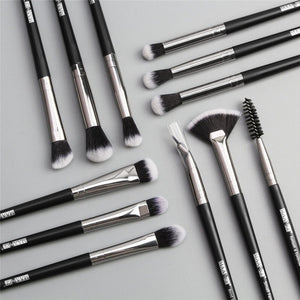Mr. Black's 12Pcs Luxury Makeup Brushes - Mr. Black's Store