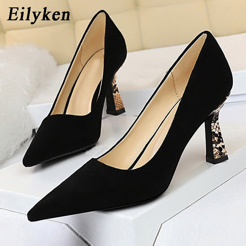 Mr. Black's Flock Shallow Women High Heels - Mr. Black's Store