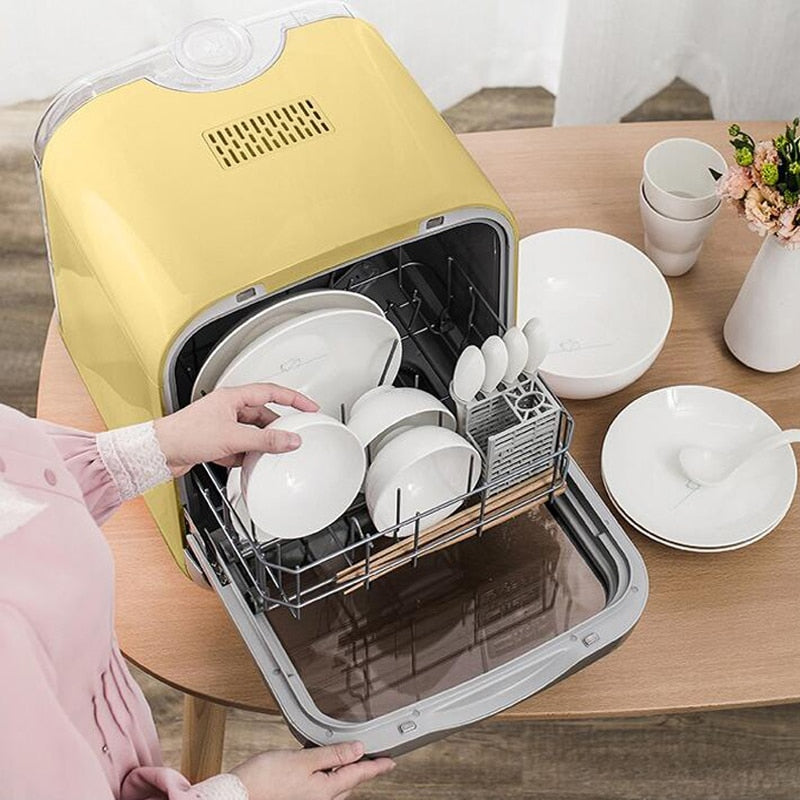 Intelligent Automatic Dishwasher