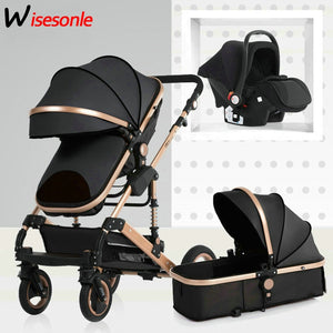 Luxurious Foldable Baby Stroller
