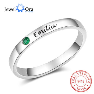 925 Sterling Silver Personalized Ring